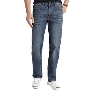 izod relaxed fit jeans 32x30 medium wash